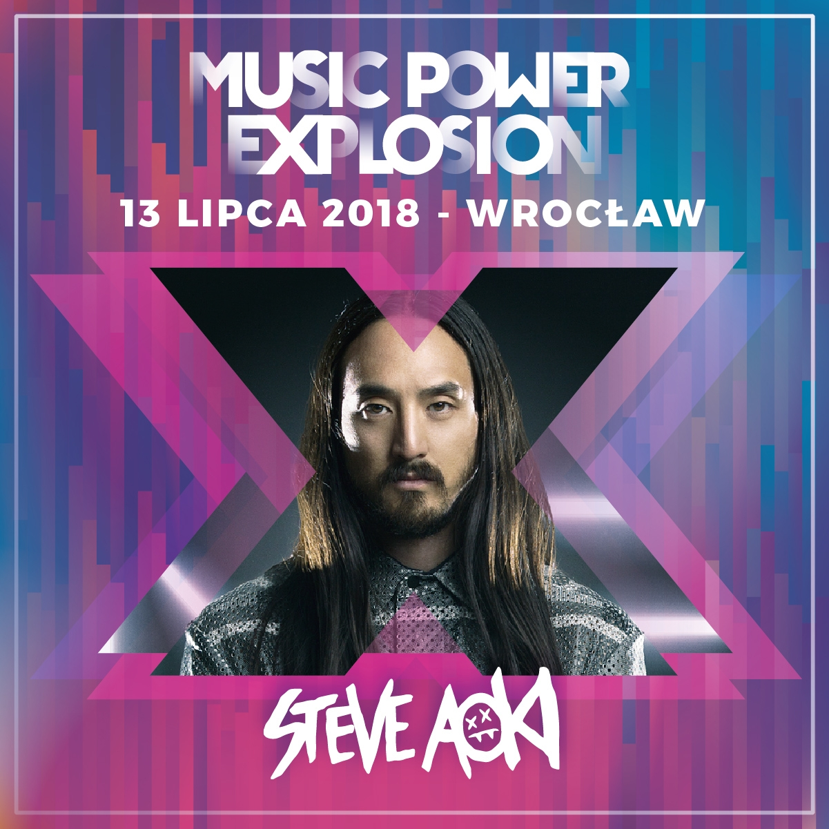 Steve Aoki - drugim headlinerem Music Power Explosion!